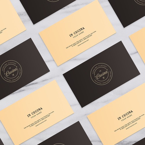 In Cucina Business Card