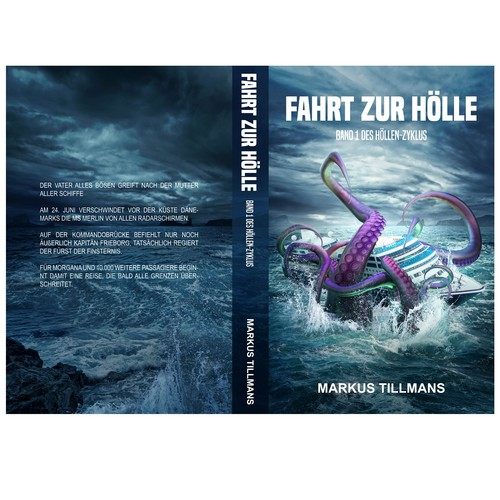 Fahrt zur Hölle Book Cover design