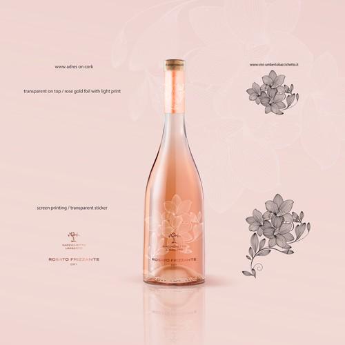 label rosato sparkling