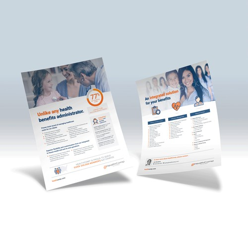 Flyer concept for HealthComp Holdings