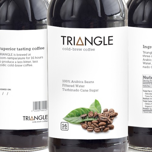 TRIANGLE cold-brew coffee