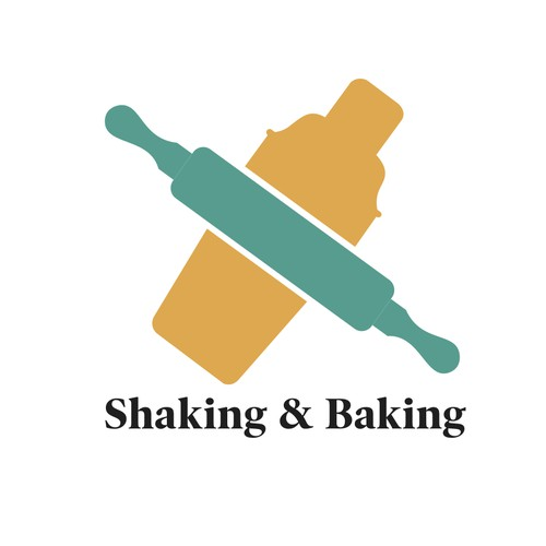 Bold Logo for Shaking and Baking