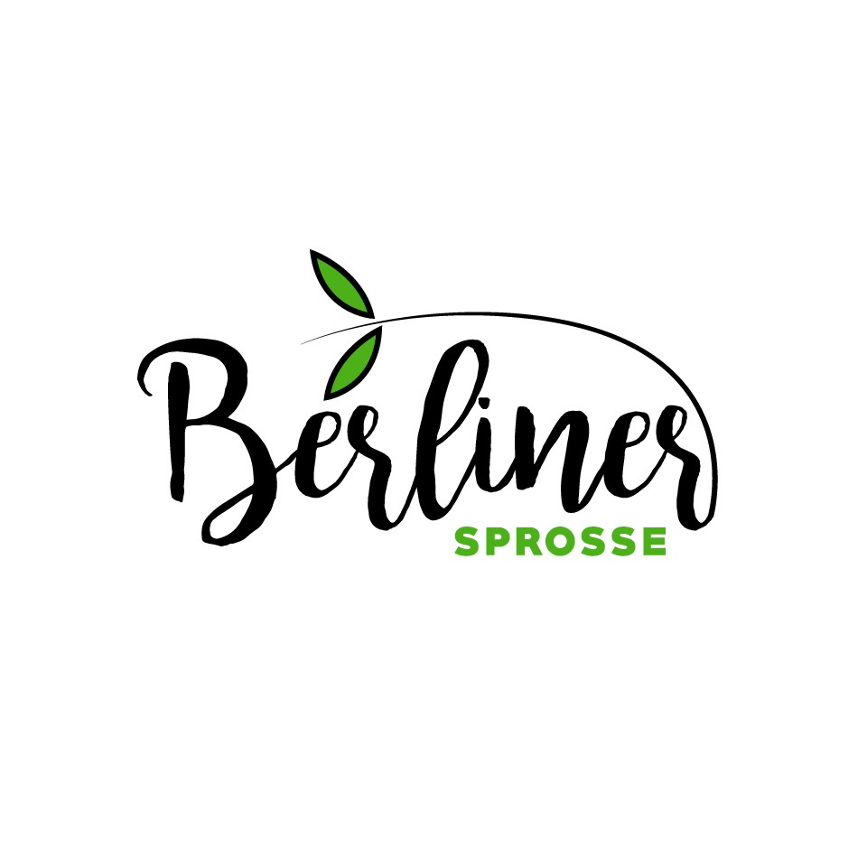 """healthy and delicious:  """"berliner sprosse""""  needs an amazing logo"""