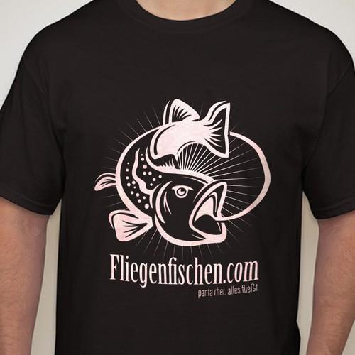 Design a high class flyfishing logo