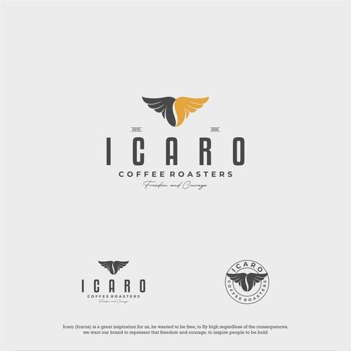 Icaro Logo Design