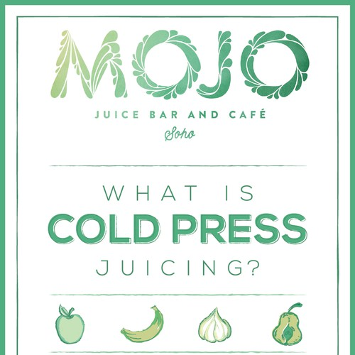 Appealing & Informative Infographic About Cold Press Juice