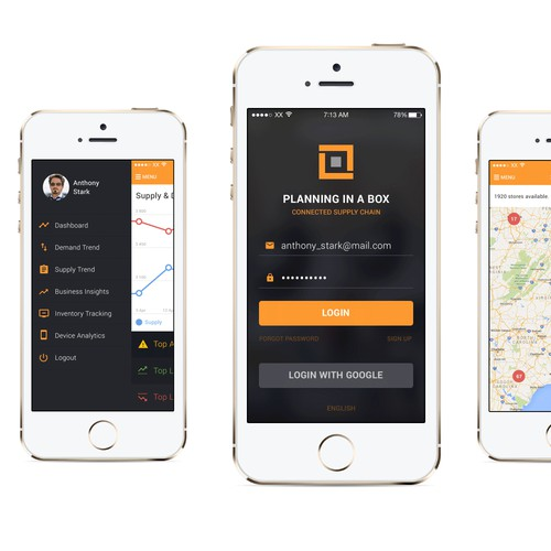 Analyzing App Design for iPhone