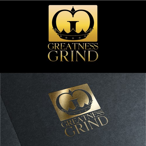 Greatness Grind coffee logo