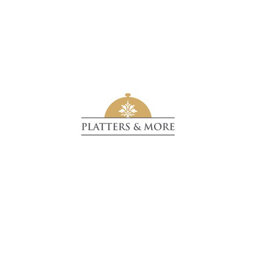 Luxury logo for a catering restaurant