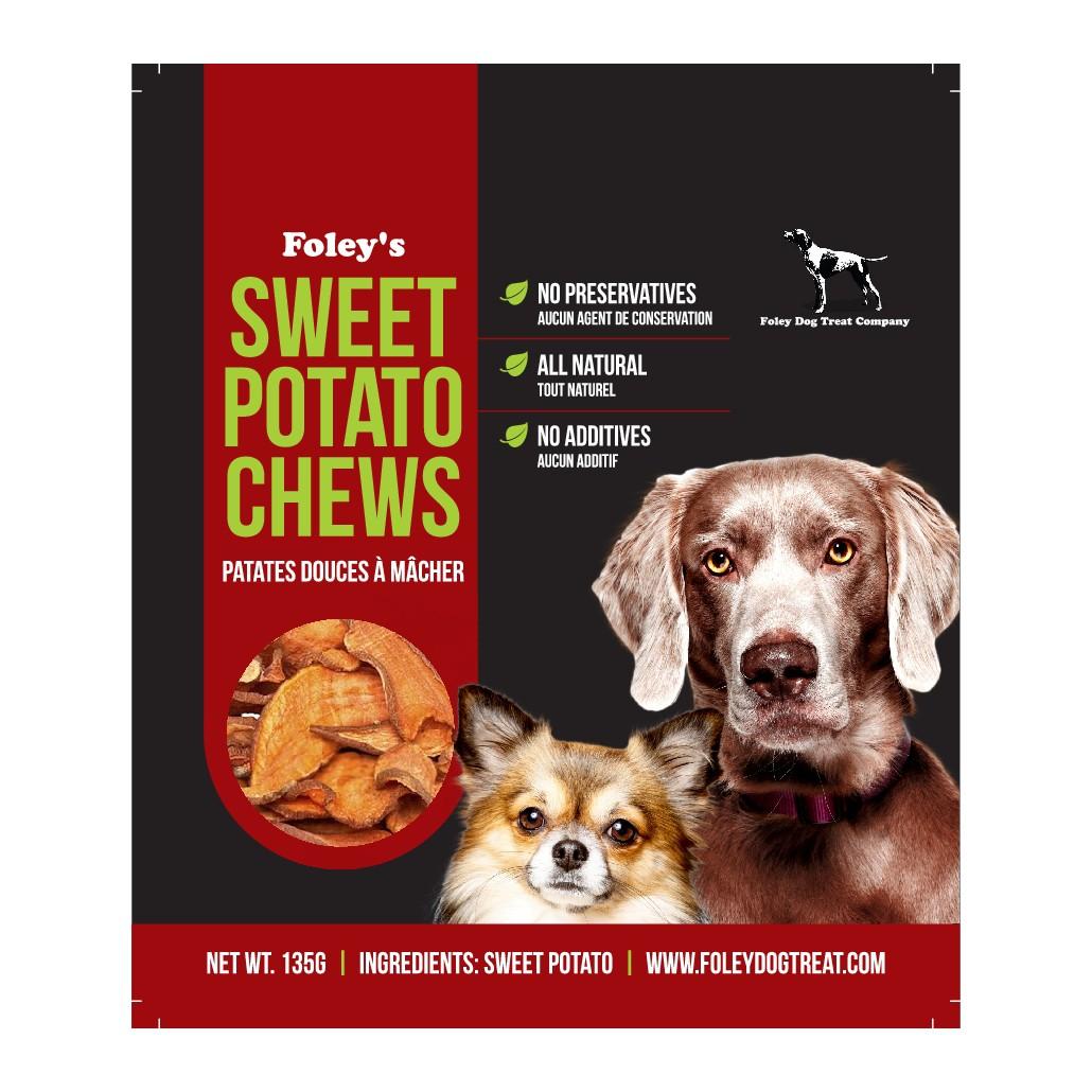Bold Modern design Sweet Potato Chews for dogs