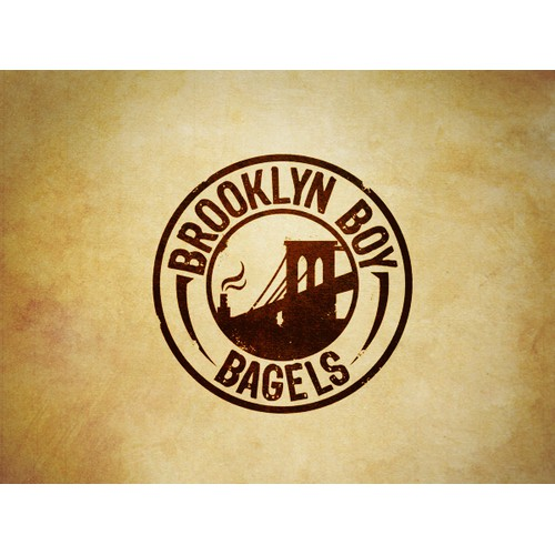 Logo For Bagel Shop