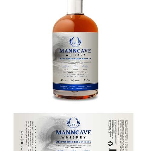 whiskey label