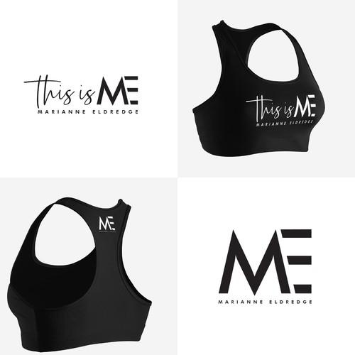 Feminine logo concept for Marianne Eldredge.