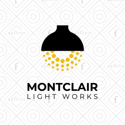 Minimalist Lamp Logo
