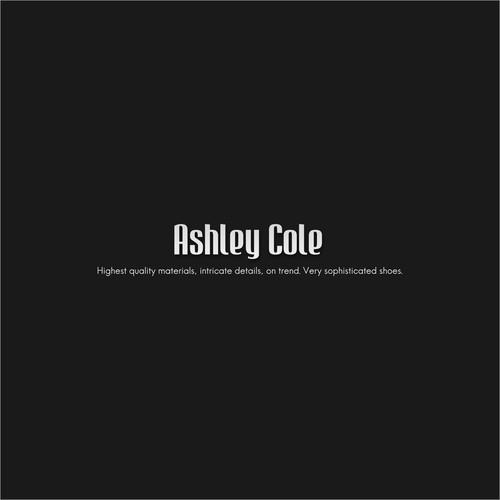 Elegant Ashley Cole Logo