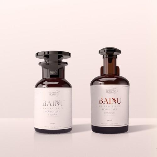 BAINU packaging design