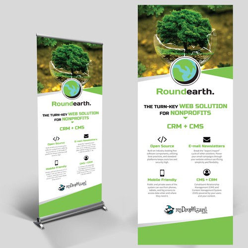 Web Solutions Roll-up Banner