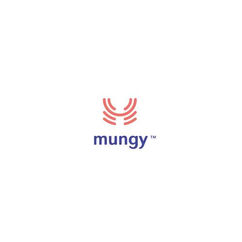 Mungy logo design