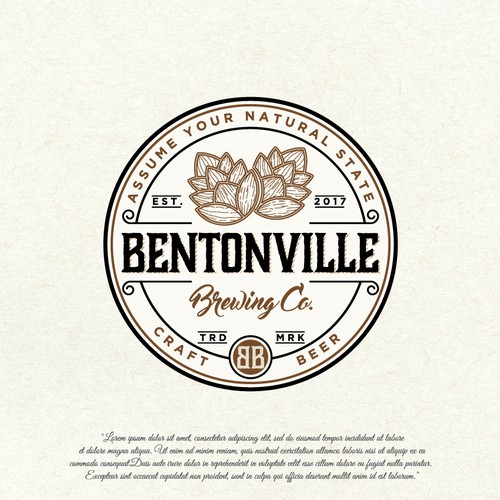 Logo design for the brewing company