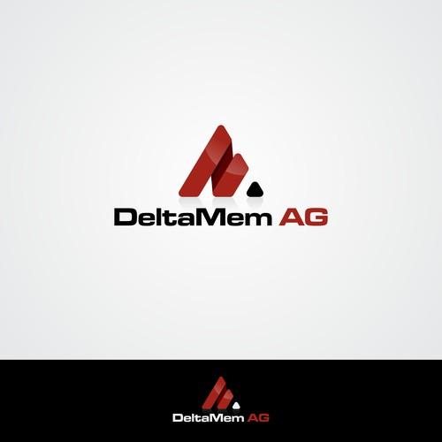 DeltaMem AG logo design