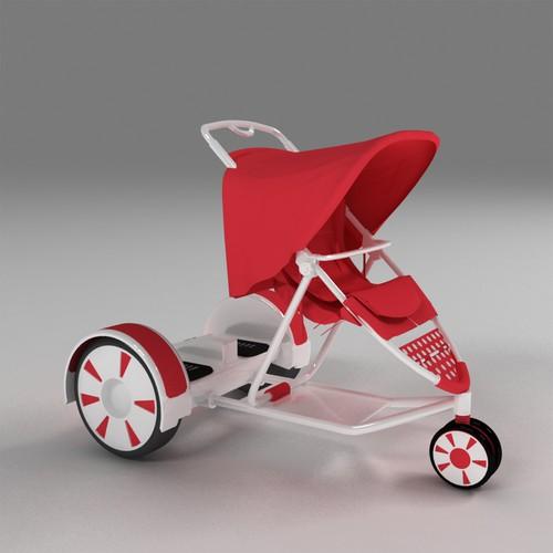 a revolutionary baby stroller