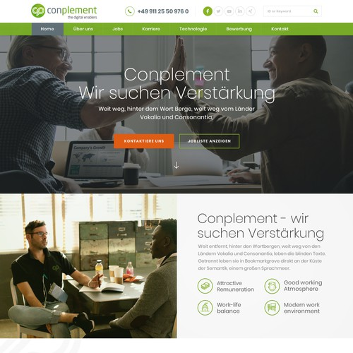 Conplement career website