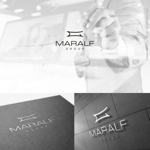 Logo for an investment company: www.maralfgroup.com