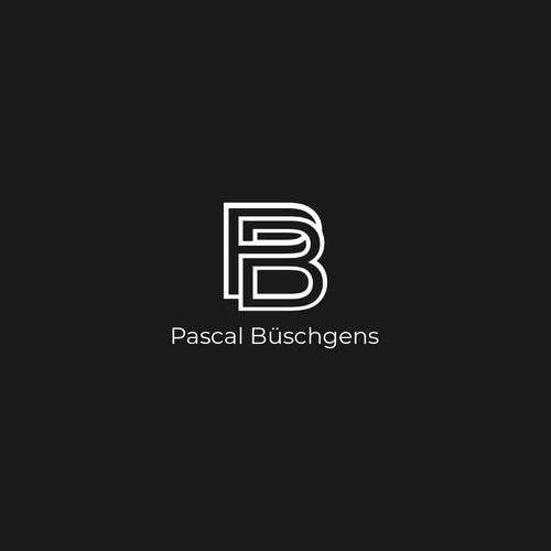 Letter P + B Logo
