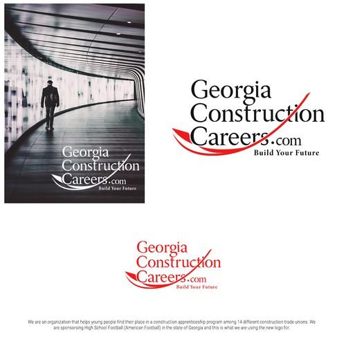 Elegant Construction Career Logo