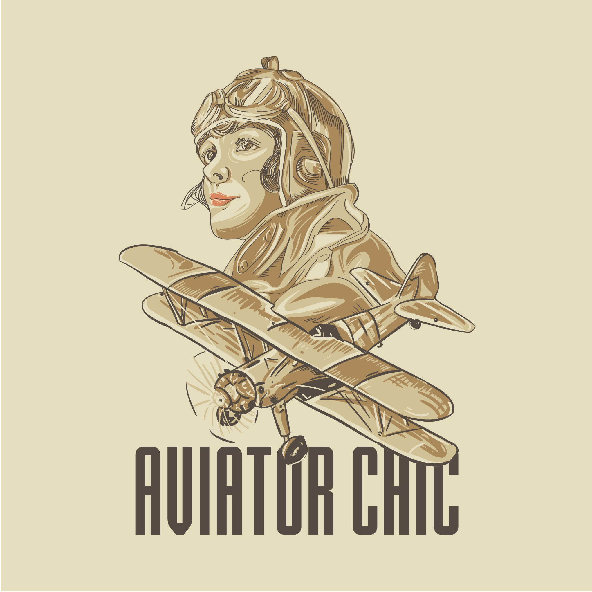 Needed:  Designs to Inspire Girls to Become Pilots for Aviator Chic