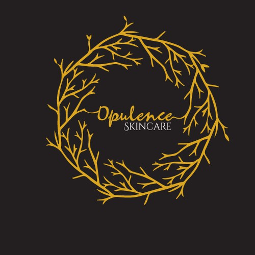 Logo concept for Opulence Skincare