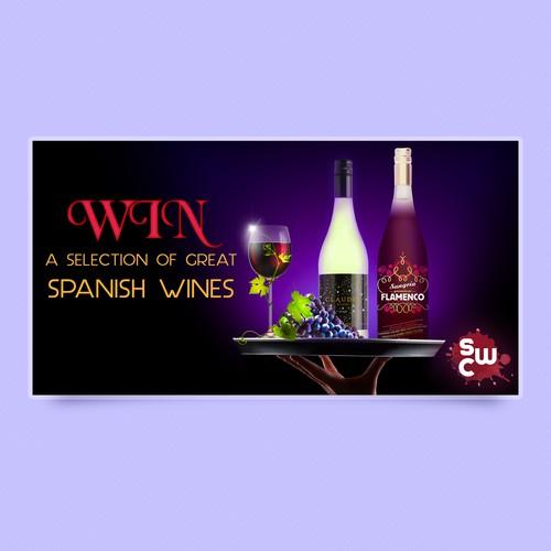Banner for Wine Facebook raffle