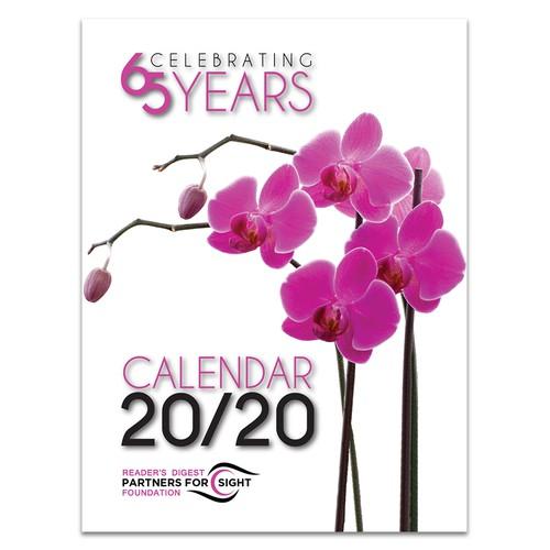Clean Contemporary Calendar Cover Design