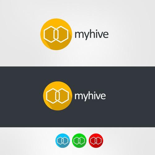 Create a logo for a multi account social network aggregator