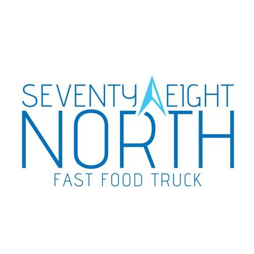 Modern Food Truck Logo