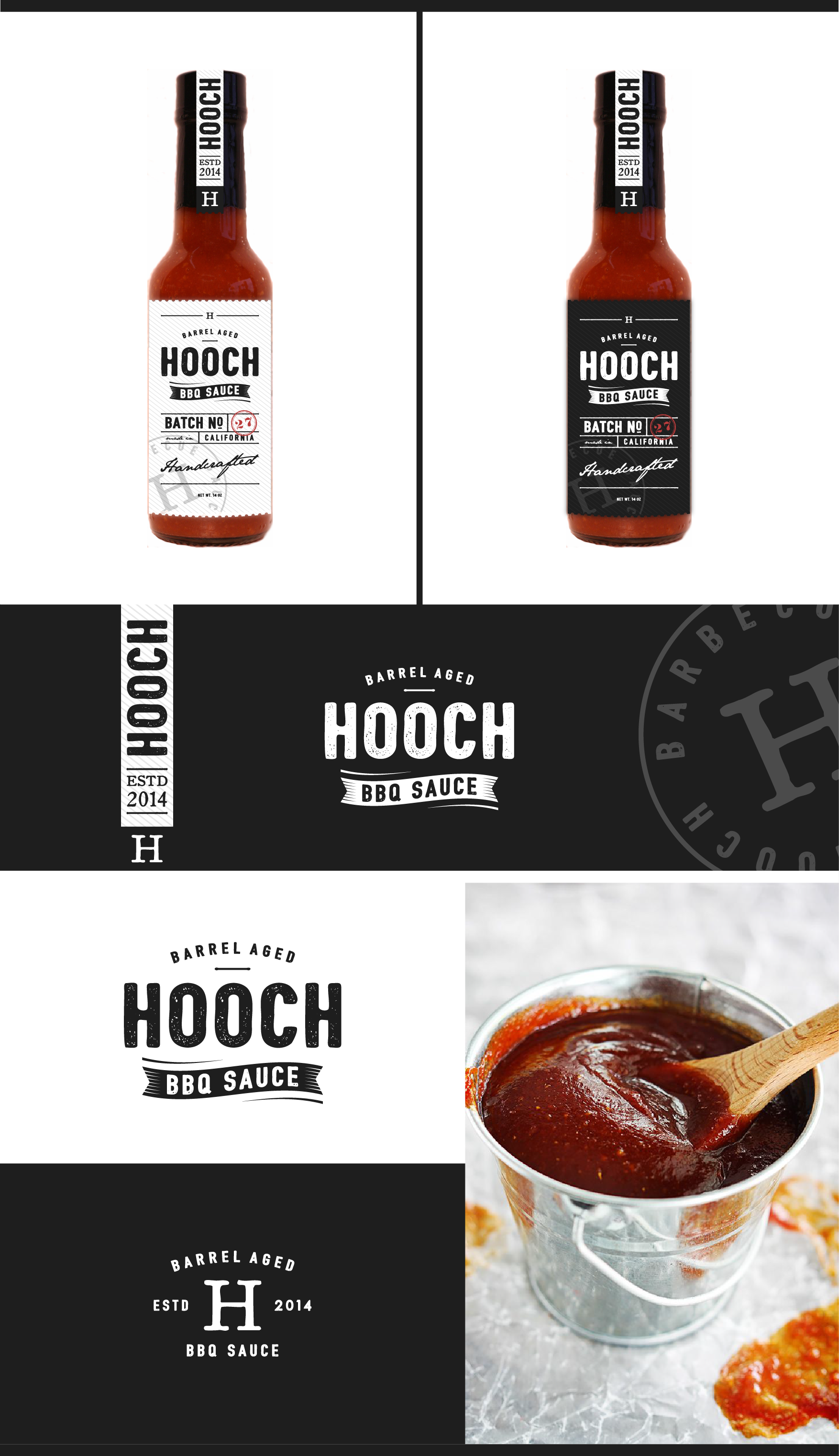 Create label for Whiskey inspired BBQ Sauce