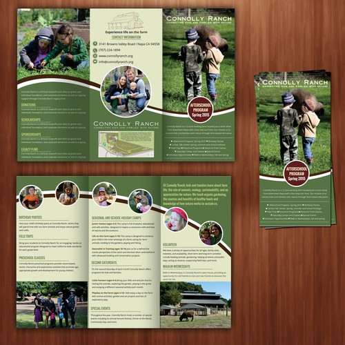 Educational Farm Brochure