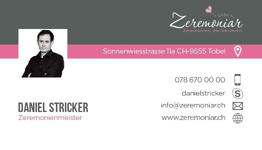 Business card (zeremoniar)