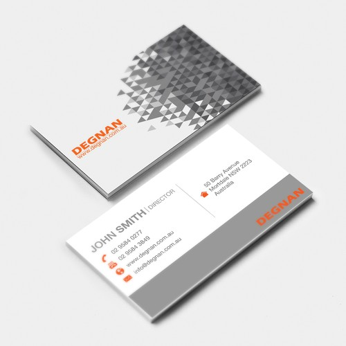 Degnan Business Card Proposal