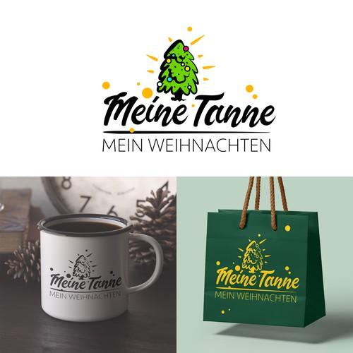 Meine Tanne logo project