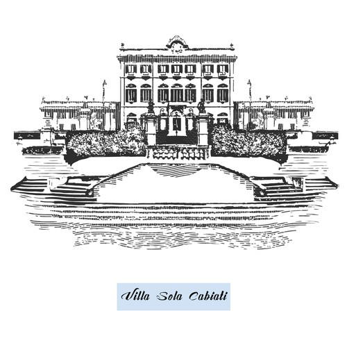 Illustration of villa