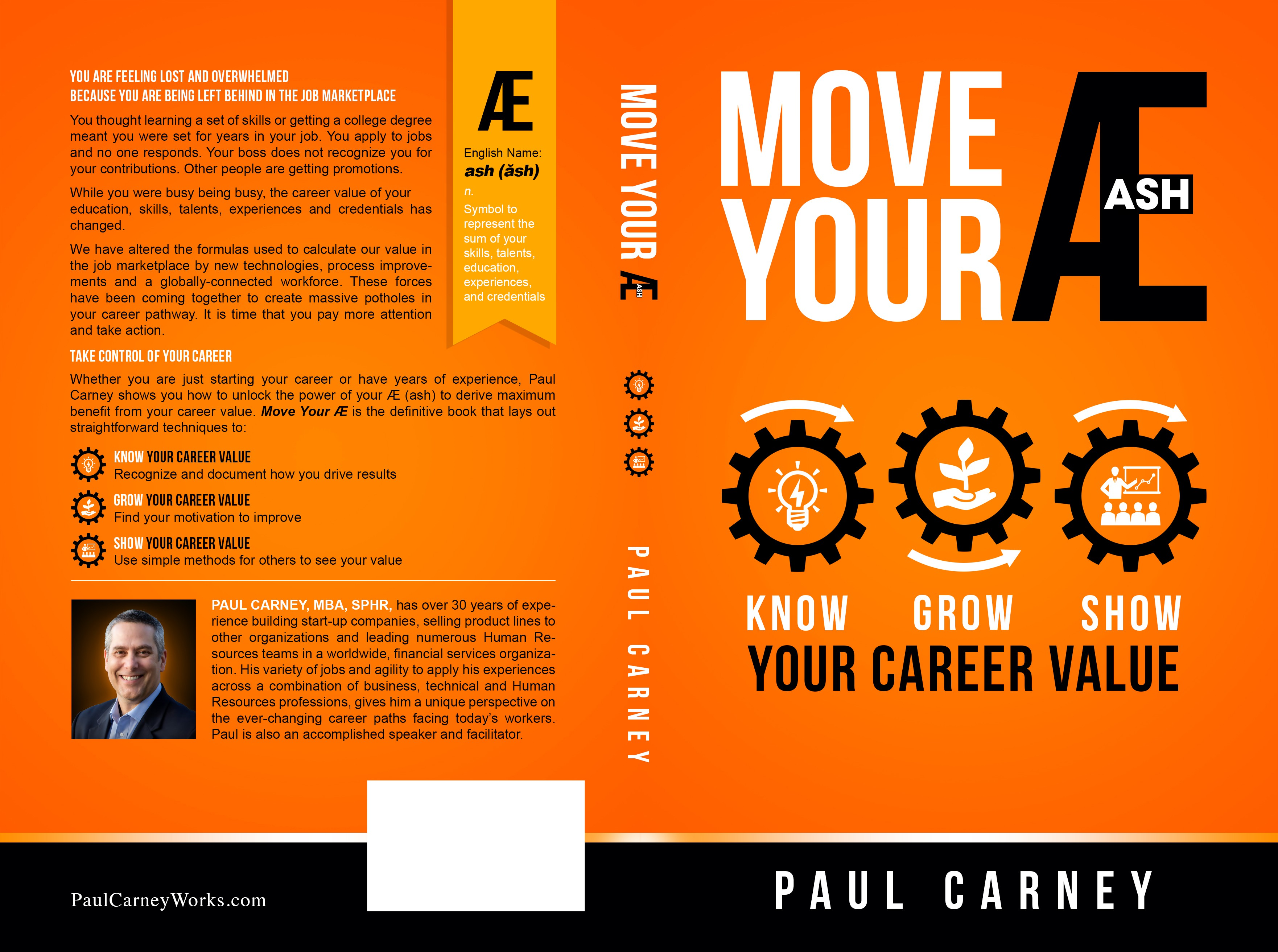 "Design the next definitive Career Book by showing how you will ""Move Your Æ (ash)"""