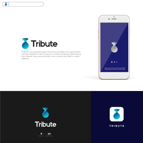 Tribute Logo icon app