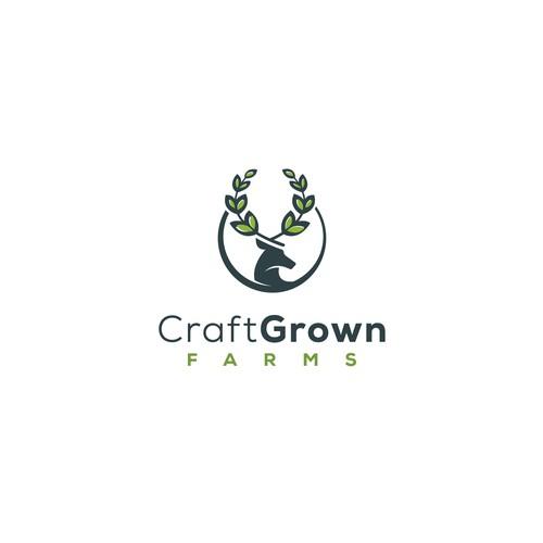 CraftGrown Farms Logo