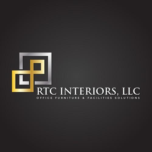 Create the next logo for RTC Interiors, LLC or RTC Interiors