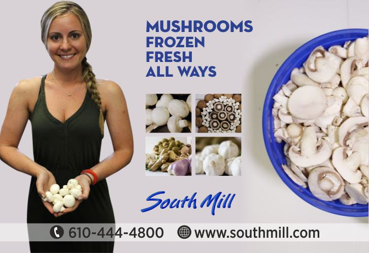 Marketing Piece for Large Mushroom Grower