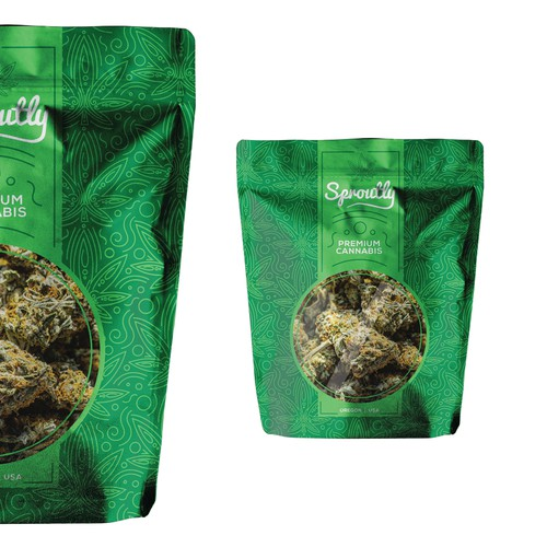Cannabis Bag Design
