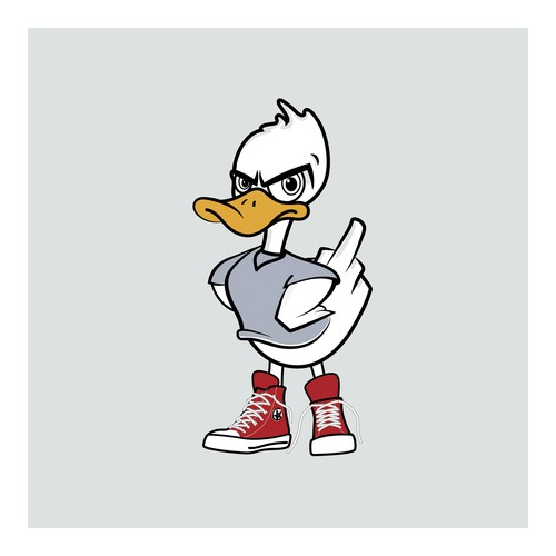 Duck Yeah! character.