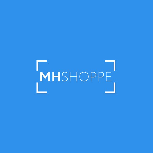 Powerful Hipster logo for MHSHOPPE