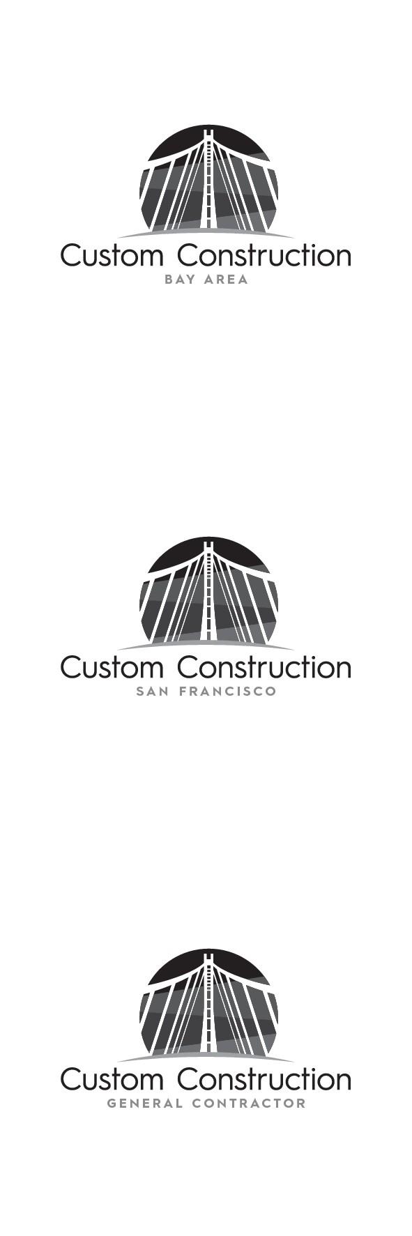 Construction Company Logo Design With Bridge